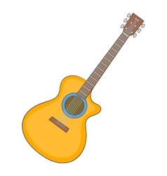 Charango icon cartoon style vector