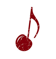 cherry note vector image