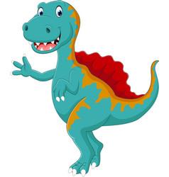 Dinosaur spinosaurus vector