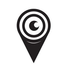 Eye icon sign design style vector