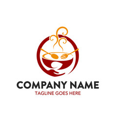 Food and beverage logo vector