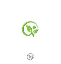 healthcare logo sign vector image