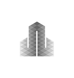letter w monochrome logo designs inspiration vector image