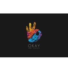 Okay logo Ok logo design Creative logo design vector