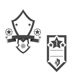 Trophy star vector