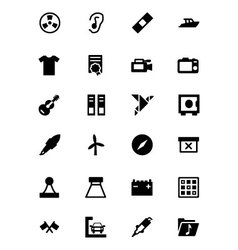 Universal Web and Mobile Icons 15 vector image vector image