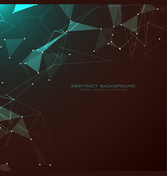 Amazing abstract technology style dark background vector