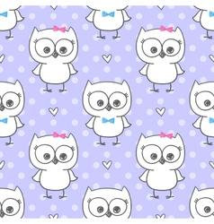 Baby owl vector