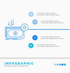 business cost cut expense finance money vector image
