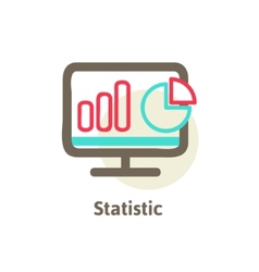 icons of optimization programming process and web vector image