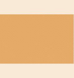 sweet dessert waffle texture seamless pattern vector image