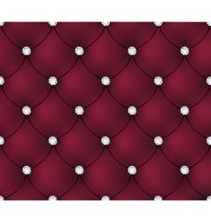 Luxury red velvet background vector image