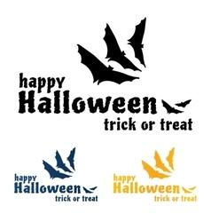 Happy Halloween Sticker vector image vector image