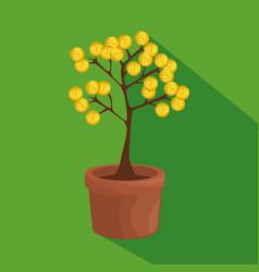 money tree business concept vector image