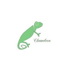 Chameleon logo Identity design template vector image