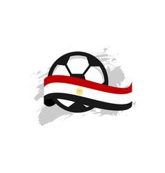 Egypt football club template design vector