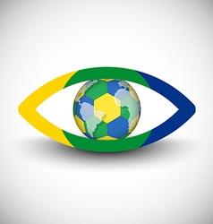 Eyeball icon vector