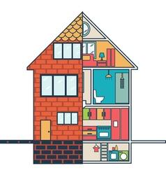 Renovation House remodelingflat design vector image