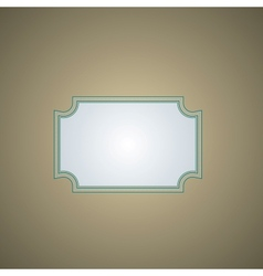 retro background with a frame vector image