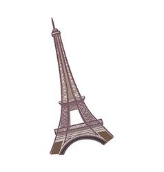The eiffel tower vector