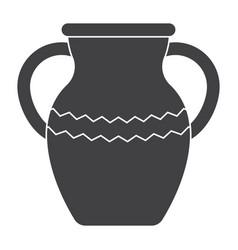 Vase icon vector