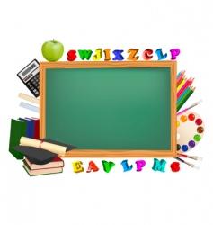 green board vector image vector image