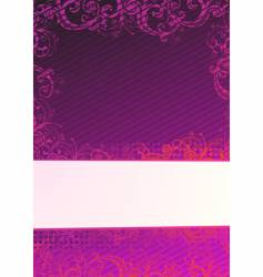 illustration of purple background vector image vector image