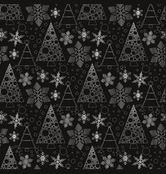 snowflake winter design season december snow vector image