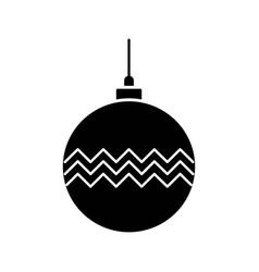 Ball decoration icon vector