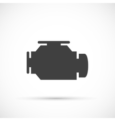 Check engine icon vector image vector image