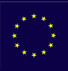 Europe day template design vector