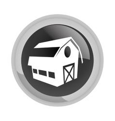 Farm emblem icon image vector