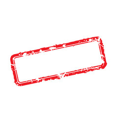 Frame of rubber stamps vector