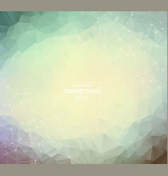 geometric light polygonal background molecule and vector image