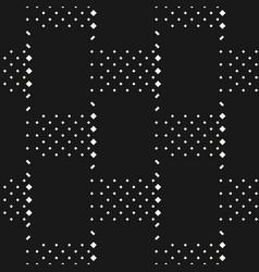 minimal monochrome geometric seamless pattern vector image