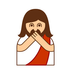 Omg christos emoji oh my god jesus emotion vector