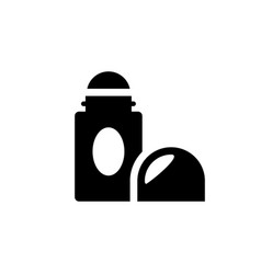 Roll on deodorant icon vector