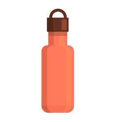 Safari thermos bottle icon cartoon style vector
