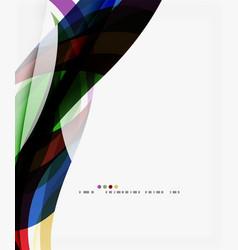 Silk wave background vector