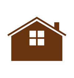 Simple guest house vector
