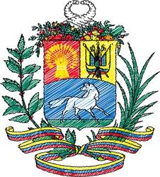 Venezuela crest vector