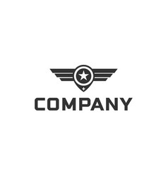 Wings logo inspirations designs vector