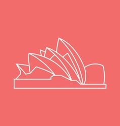 Opera House vector image vector image