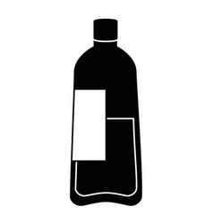 bottle water plastic icon vector image