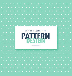 cute blue polka fabric background vector image