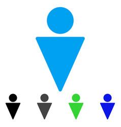 Man flat icon vector