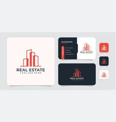 Real estate architecture logo concept inspiration vector