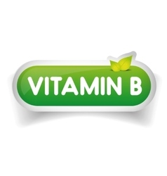 Vitamin B label vector