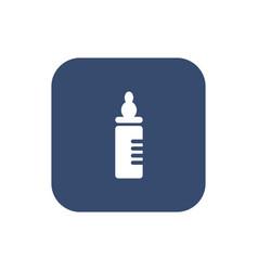 baby milk bottle icon - vector image