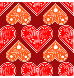 heart love valentine card love hearts vector image vector image